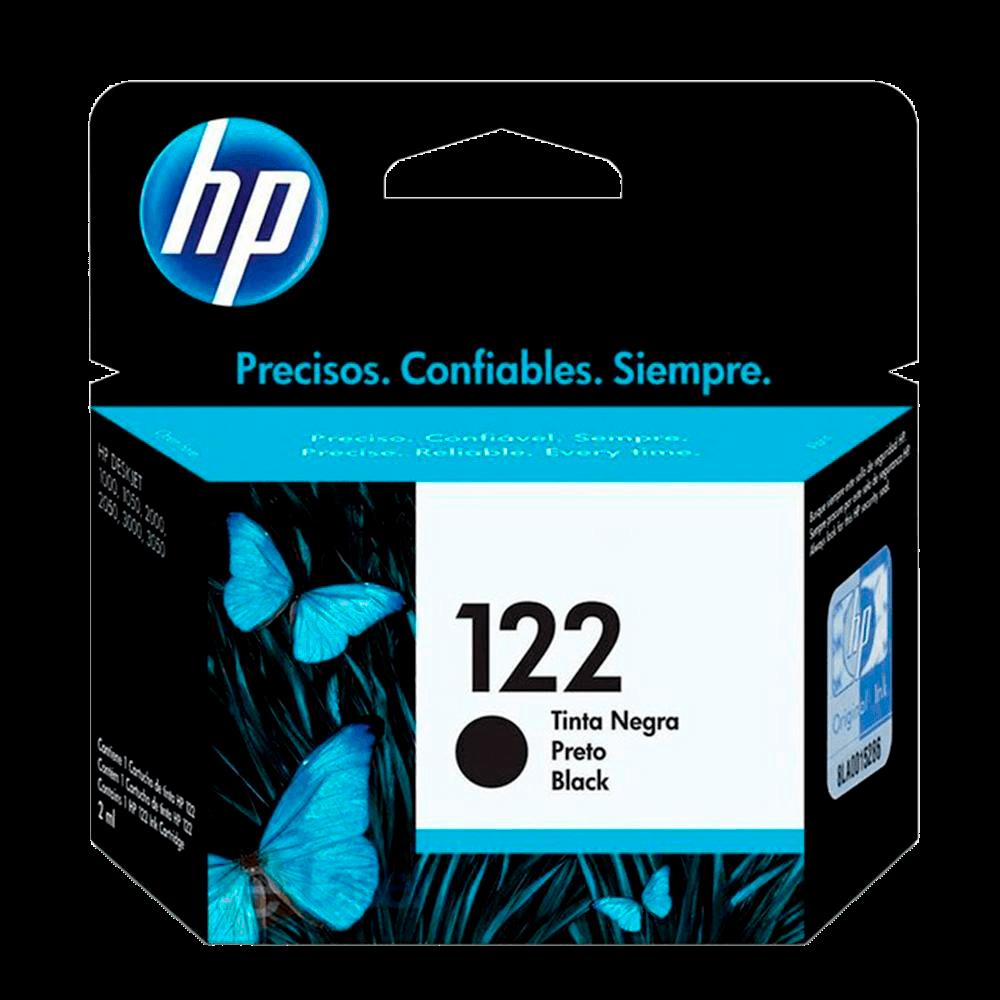 Cartucho de Tinta HP 122, Preto - CH561HB