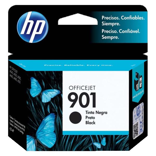 Cartucho de Tinta HP 901 Preto CC653AL