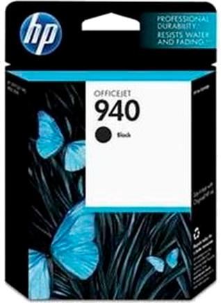 Cartucho de Tinta HP (940) Preto - C4902AL