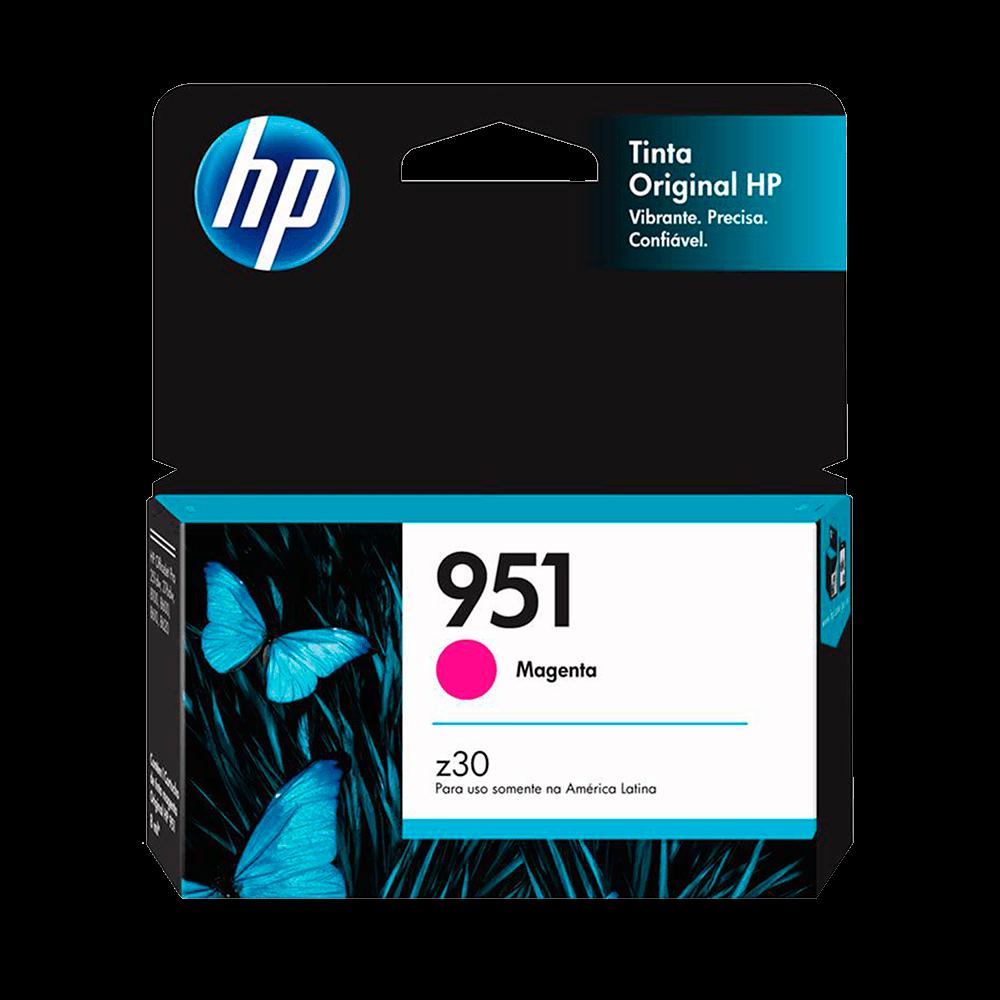 Cartucho de Tinta HP 951 Magenta - CN051AB