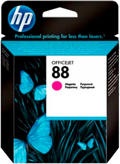Cartucho HP 88 Original Magenta - C9387AL