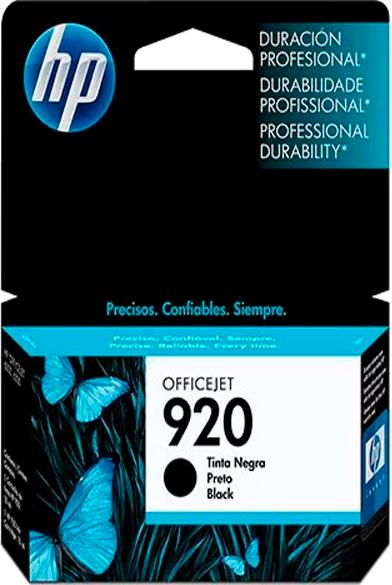 Cartucho HP 920 Preto Original - CD971AL