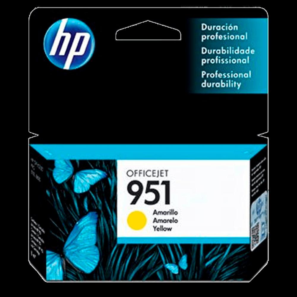 Cartucho HP 951 amarelo CN052AL HP - Original