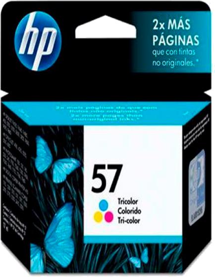 Cartucho Hp 57 Inkjet Colorido 17ML - C6657AL