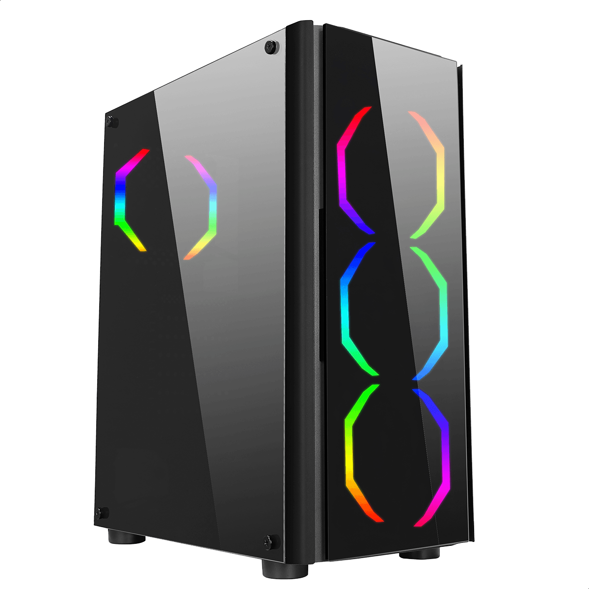 Computador Gamer Infohard AMD Ryzen 5 3600, 16GB DDR4, 500GB SSD, GTX1050TI 4GB, 550W, B450M - 635891