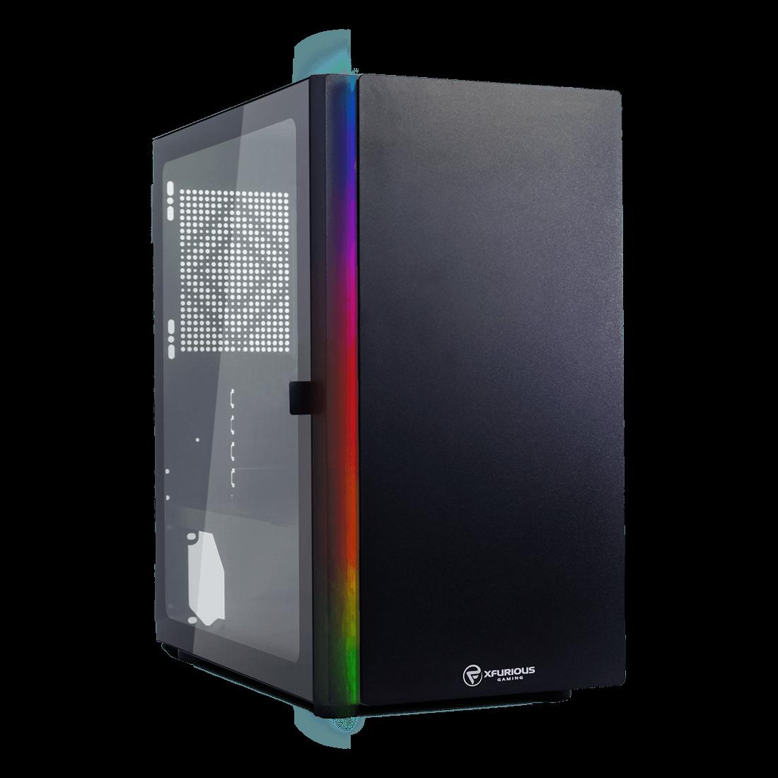 Computador Gamer Infohard AMD Ryzen 5 3600, 8GB DDR4, 500GB SSD NVME, RX560 4GB, 500W, B450M - 636667