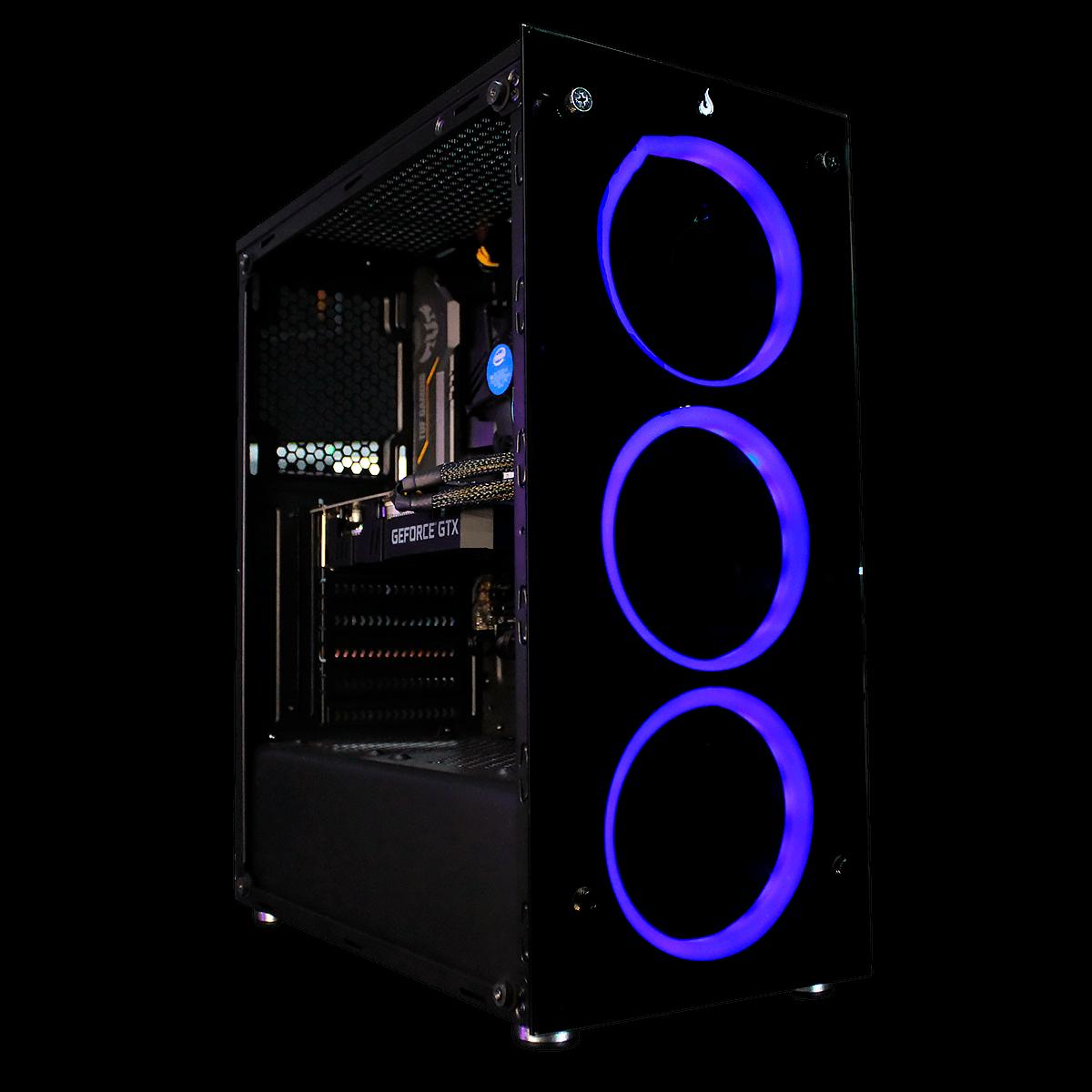 Computador Gamer Infohard Intel Core I3-10100F, 16 GB DDR4, 240 GB SSD, GTX 1650 4GB, 500W, B460M-Plus - P63419