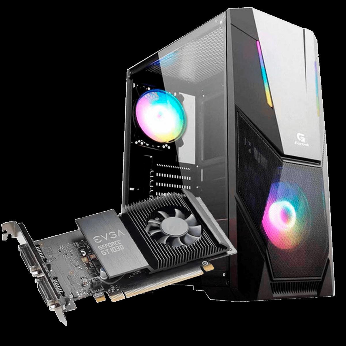 Computador Gamer Infohard Intel I3-9100F,8 GB DDR4, 240GB SSD, GT1030 2GB, 500W, H310M-E R2.0/BR - 634760