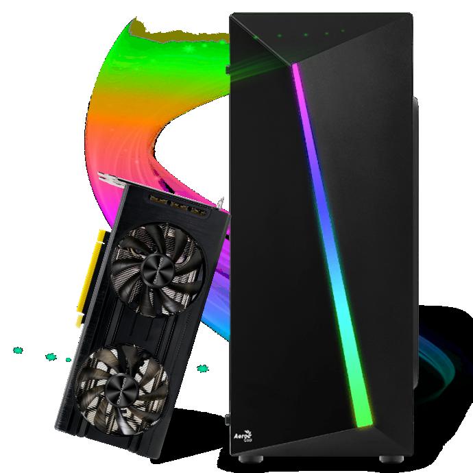 Computador Gamer Infohard Intel I5-10400, 16 GB DDR4, 480 GB SSD, RTX 3060 12GB, 600W, Z490 UD AC - 635370
