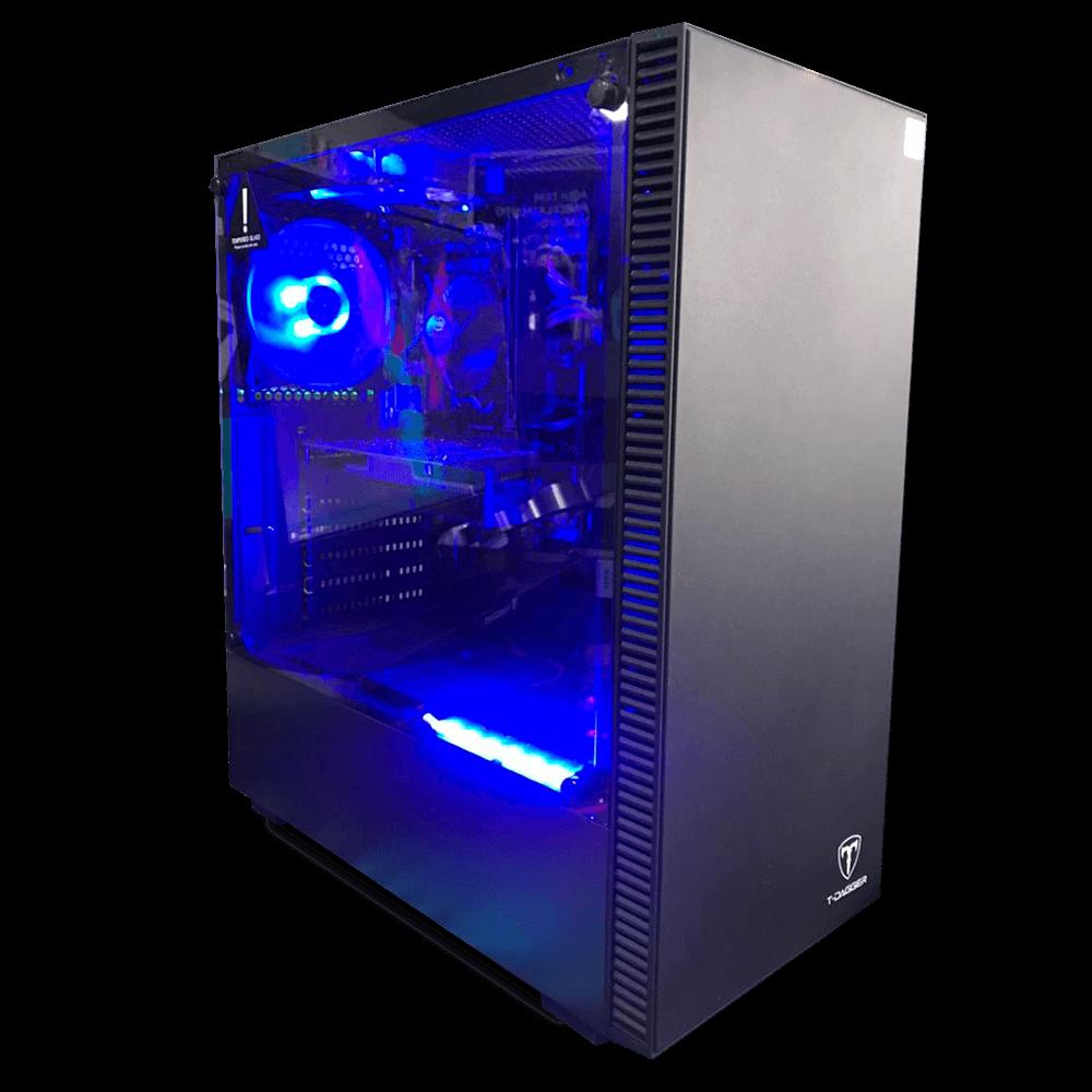 Computador Gamer Infohard Intel I5-10400, 16GB DDR4, 240GB SSD, GTX 1650 4GB, 500W, H410M - 635416-2