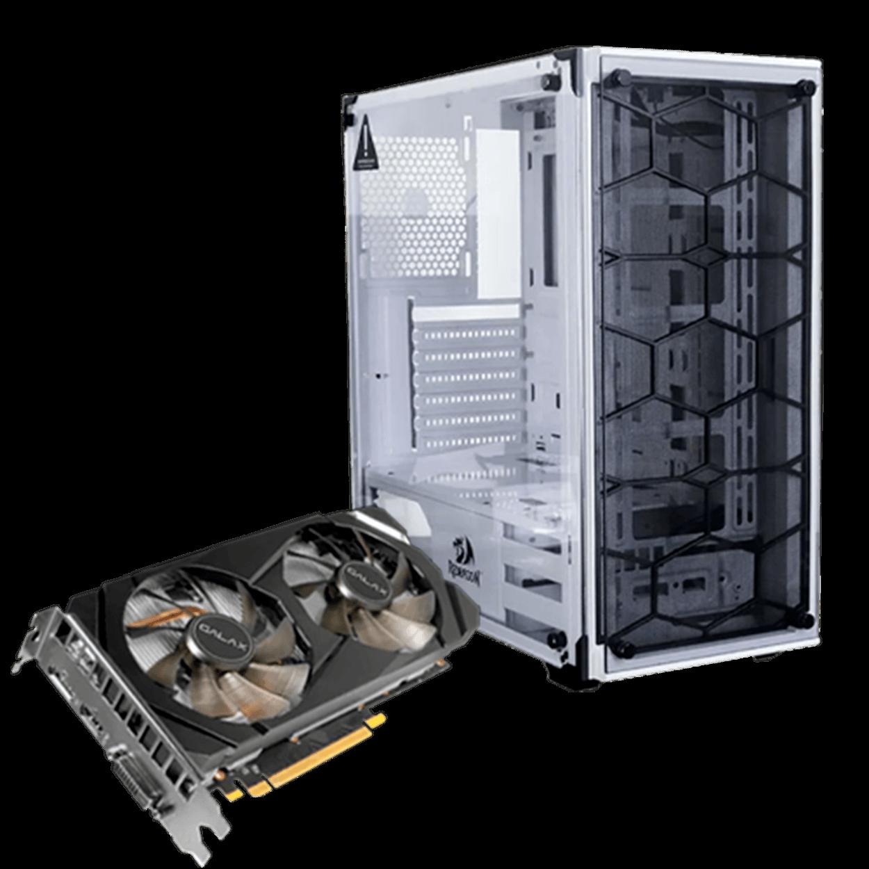 Computador Gamer Infohard Intel I5-9400F, 16GB DDR4, 480GB SSD, GTX1650 GB, 600W, H310CM-HG4 - 634784
