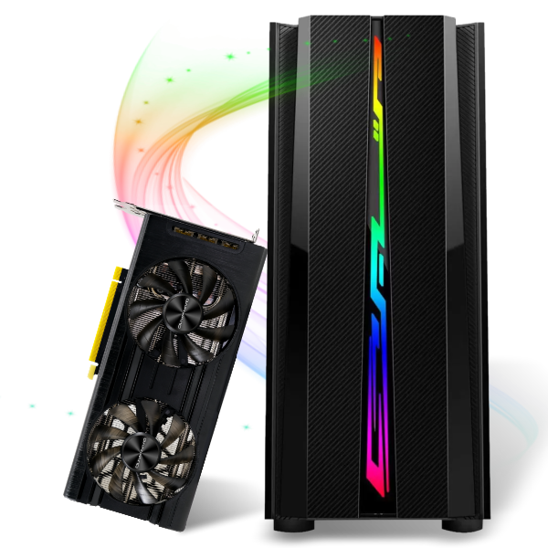 Computador Gamer Infohard Intel I7-10700KF, 32 GB DDR4, 480 GB SSD, RTX 3060 12GB, 600W, Z490M - 635364