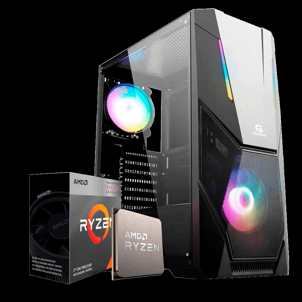 Computador Gamer Infohard Ryzen 3 3200G, 8GB DDR4, 240GB SSD, 500W A320M-S2H - 634747