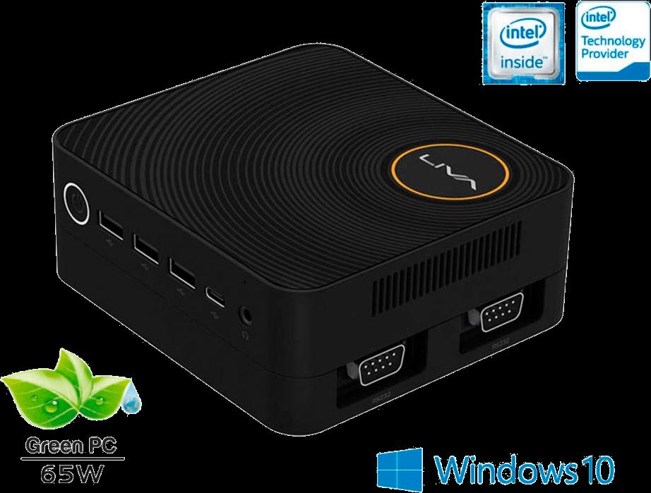 Computador Liva Ze Intel Windows Ultratop Uln3350430w Dual Core N3350 4gb Ssd 30gb Hdmi USB Rede W10