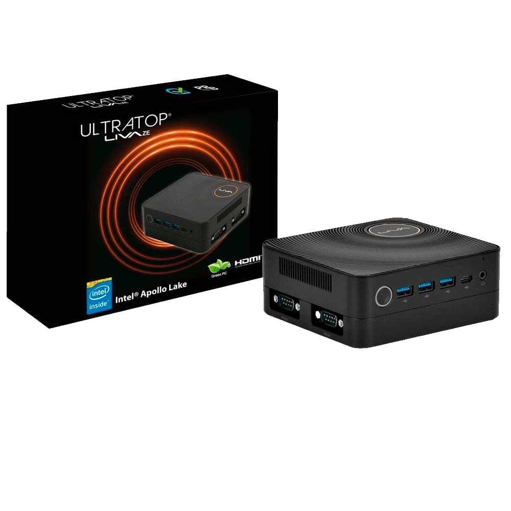 Computador Ultratop Liva Ze Plus Intel Core i3-7100U, 4GB, HD 500GB, HDMI, Serial, Linux - UL7100U4500