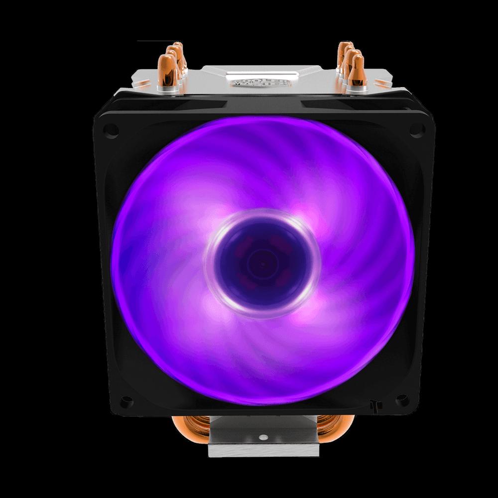 Cooler para processador cooler master hyper H410R 92MM RGB, RR-H410-20PC-R1