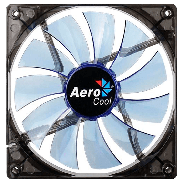 Cooler Fan 14cm Blue Led En51400 Azul-  Aerocool