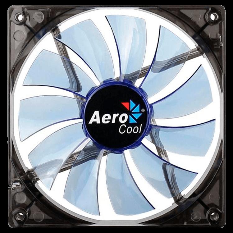 Cooler Fan 14cm Blue Led En51400 Azul -  Aerocool