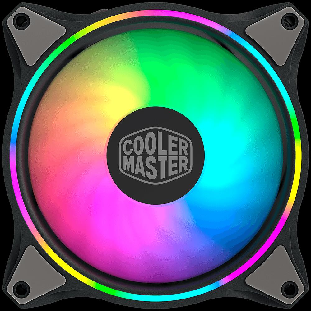 Cooler FAN Cooler Master Masterfan MF120 Halo RGB, 120mm - MFL-B2DN-18NPA-R1