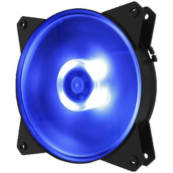 Cooler FAN Cooler Master MasterFan MF120L Azul - R4-C1DS-12FB-R1