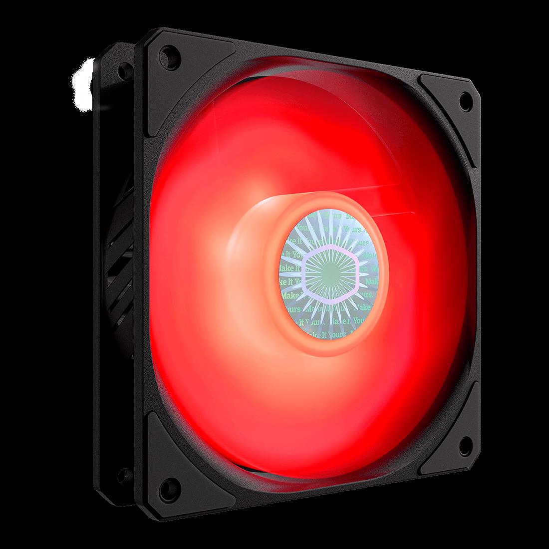 Cooler FAN Cooler Master SickleFlow, 120mm, LED Vermelho - MFX-B2DN-18NPR-R1