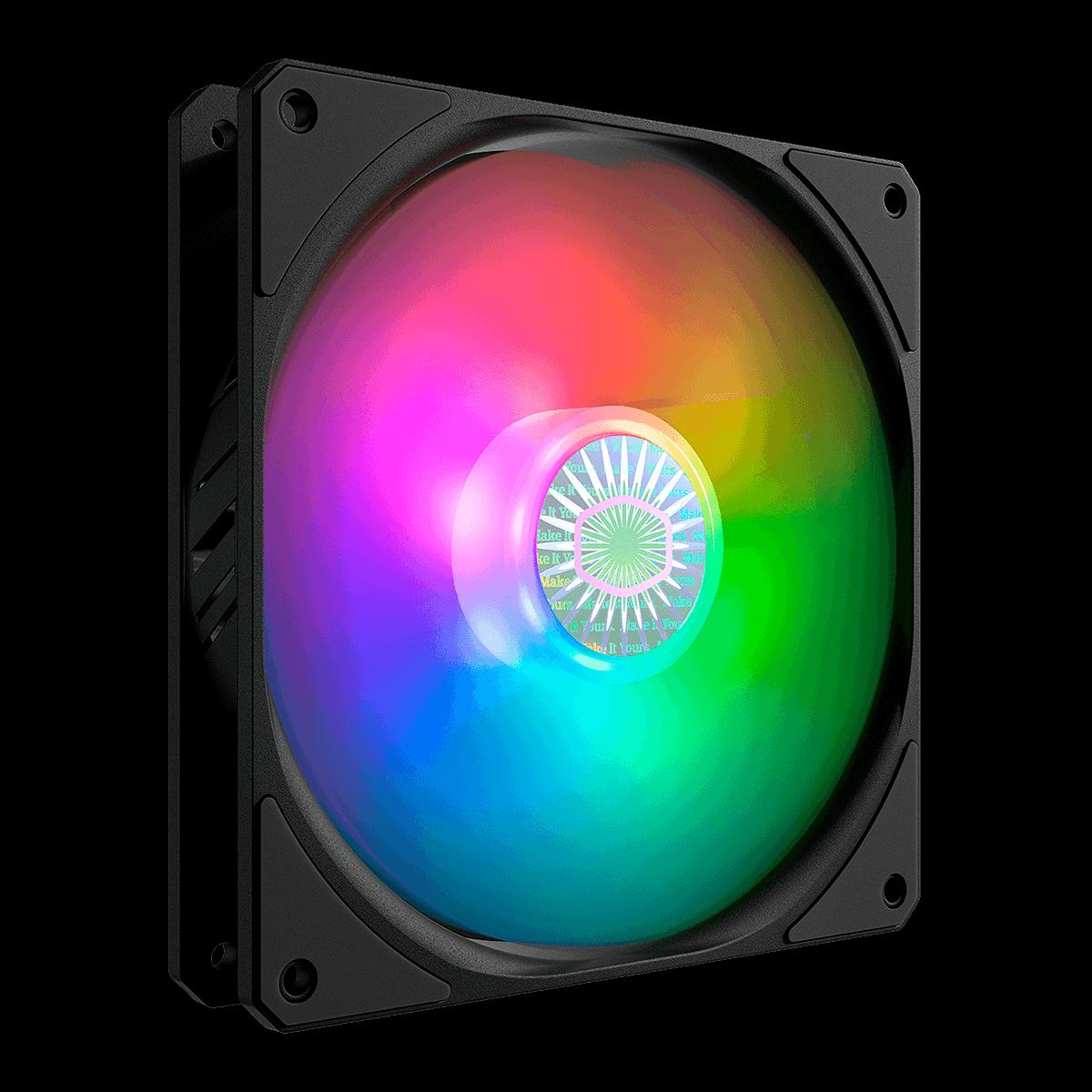 Cooler FAN Cooler Master Sickleflow 140 ARGB, 140mm, RGB - MFX-B4DN-14NPA-R1
