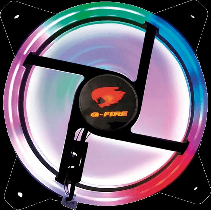 Cooler FAN G-Fire LED, 12cm - EW0509R