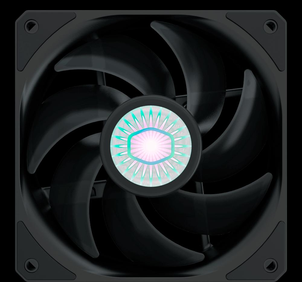 Cooler para Gabinete, Cooler Master, SickleFlow MasterFan, 120mm, sem LED, 1800RPM, MFX-B2NN-18NPK-R1