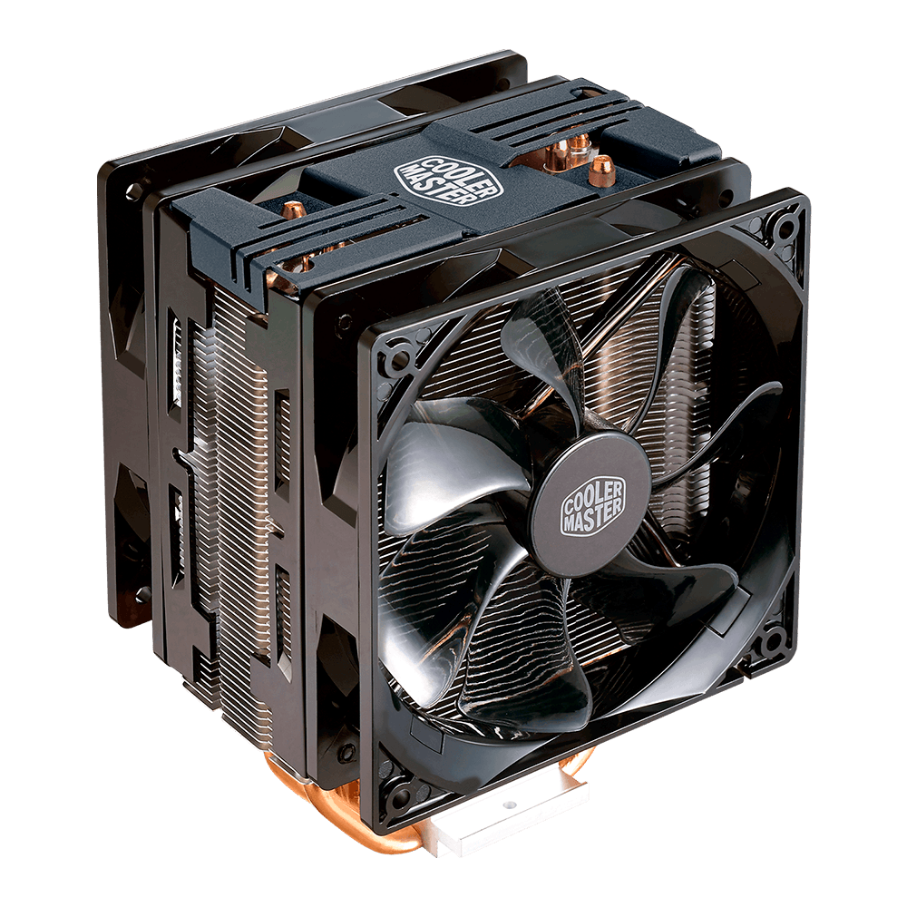 Cooler para procesador Cooler Master Hyper 212 Turbo Led Vermelho - RR-212TK-16PR-R1