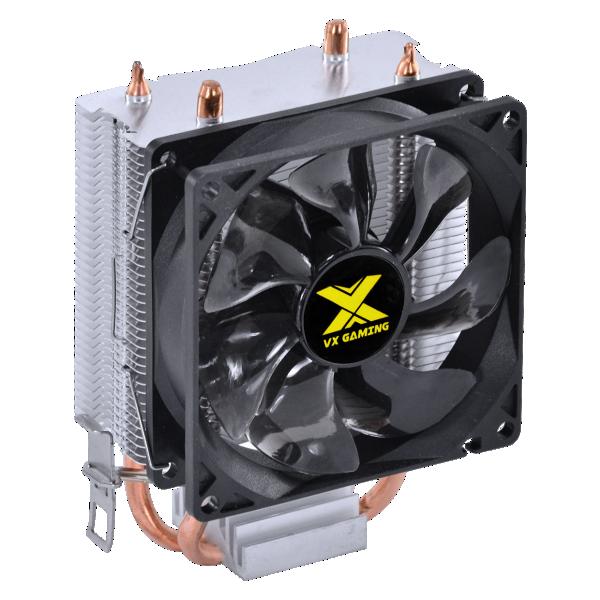Cooler Para Processador Vx Gaming Quasar Compatível Com Intel/AMD Com Pwm Tdp 85w Preto - CP200