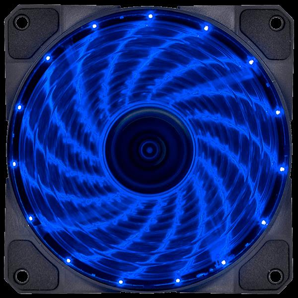 Cooler VX Gaming V.Lumi 15 pontos de LED 120mm - 29563 Azul