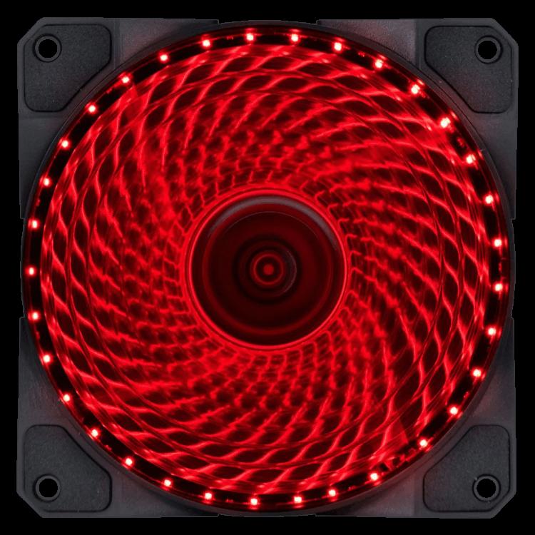Cooler VX Gaming V.Lumi 33 pontos de LED 120mm - 29560 Vermelho