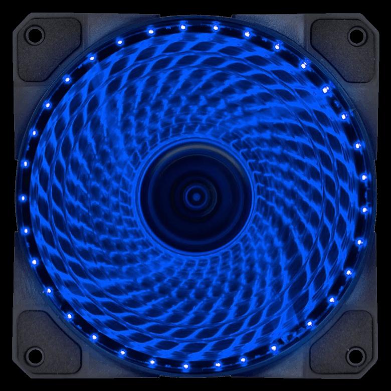 Cooler VX Gaming V.Lumi 33 pontos de LED 120mm - 29561 Azul