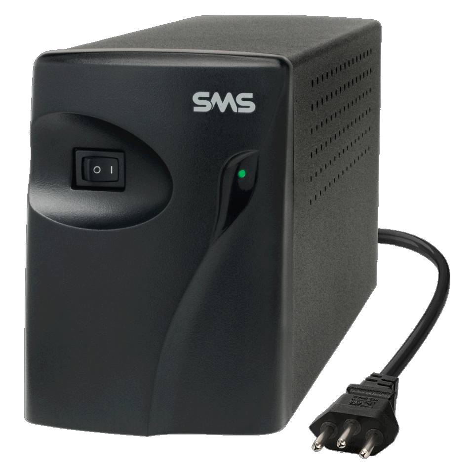 Estabilizador SMS Progressive III Laser, 1000VA