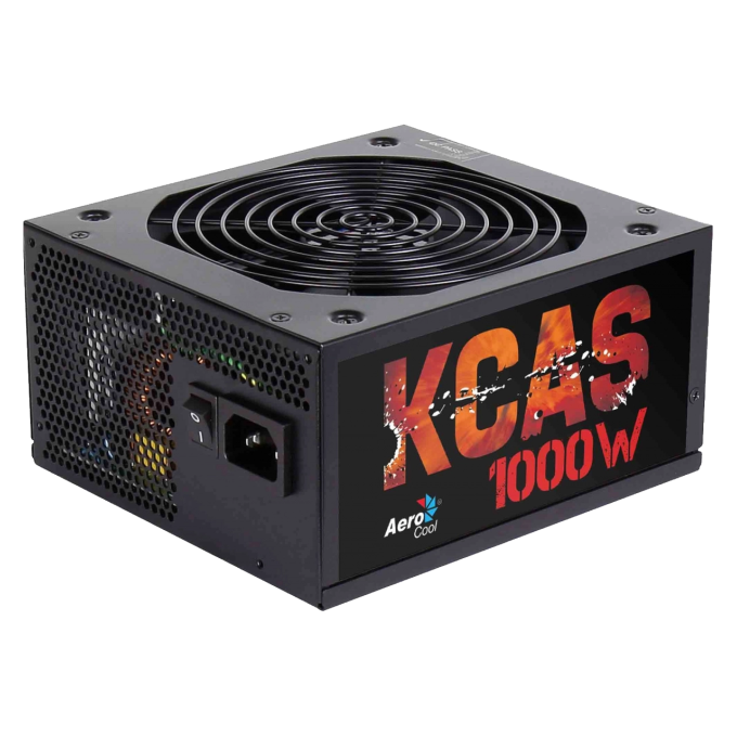 Fonte ATX Aerocool KCAS 1000W, 80 Plus Bronze, PFC Ativo, Modular - EN53862