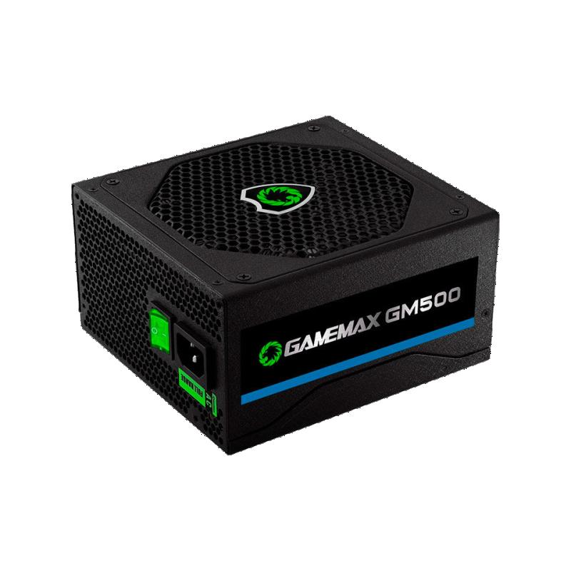 Fonte Gamemax GM500 PFC Ativo 500W 80 Plus Bronze - Preta