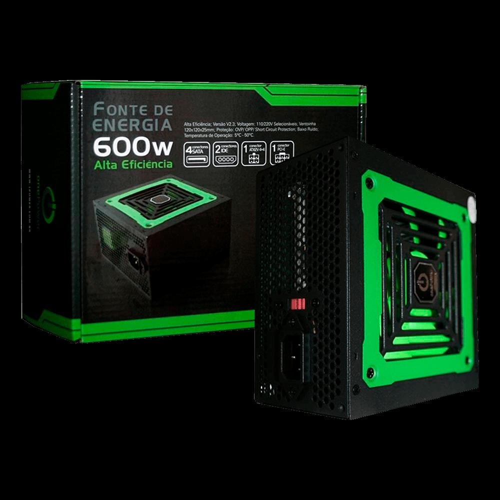 Fonte One Power 600W - MP600W3-I