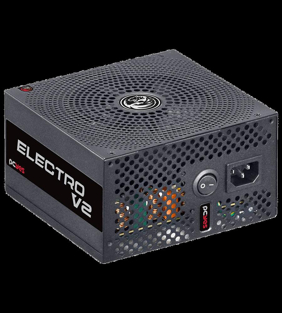 Fonte PcYes ATX 600W Real Electro V2 80 Plus Bronze - ELECV2PTO600W