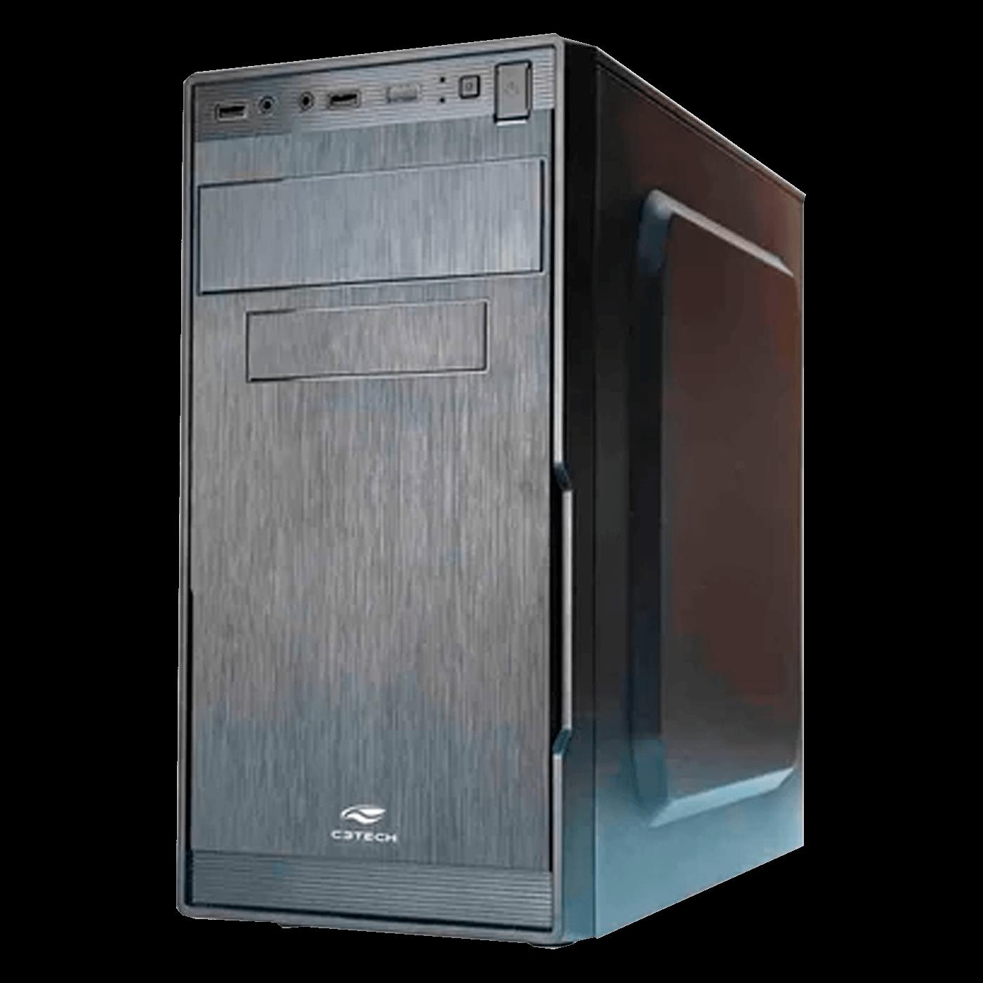 Gabinete ATX sem Fonte Gamer Preto C3tech - MT-G660BK