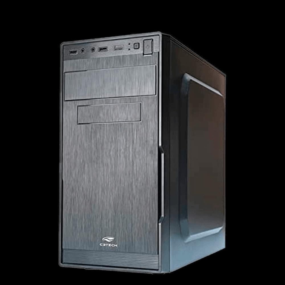 Gabinete C3Tech Micro-ATX com Fonte - MT-23BK