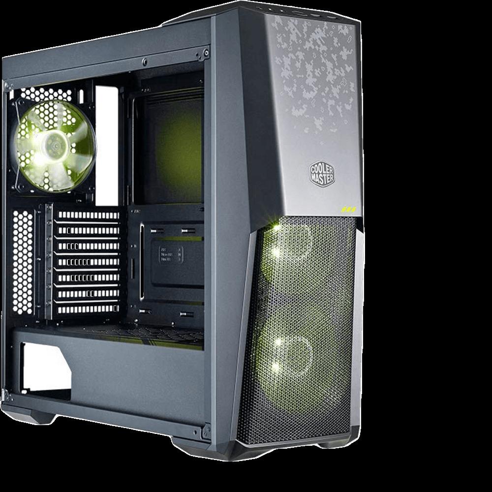 Gabinete Cooler Master Masterbox MB500 TUF Gaming Edition - MCB-B500D-KGNN-TUF