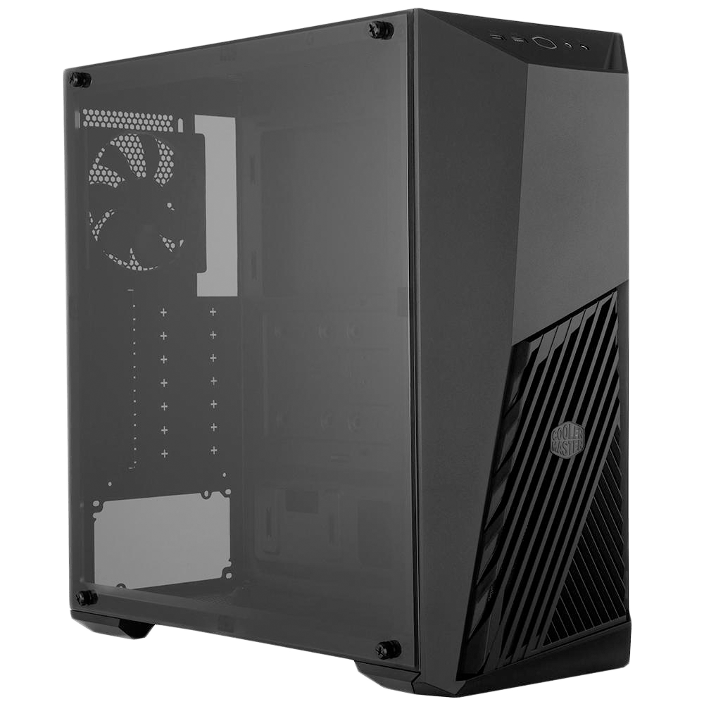 Gabinete Gamer Cooler Master K501L RGB, Mid Tower, com FAN, Lateral em Vidro - MCB-K501L-KGNN-SR1