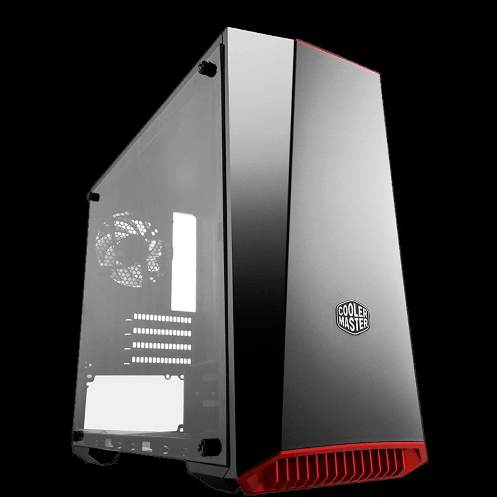 Gabinete Gamer Cooler Master MasterBox Lite 3.1 Preto com Janela, MCW-L3B3-KANN-01