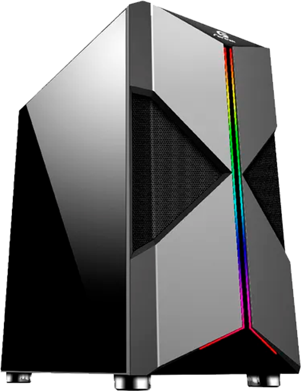 Gabinete Gamer Fortrek Mid Tower RGB Holt