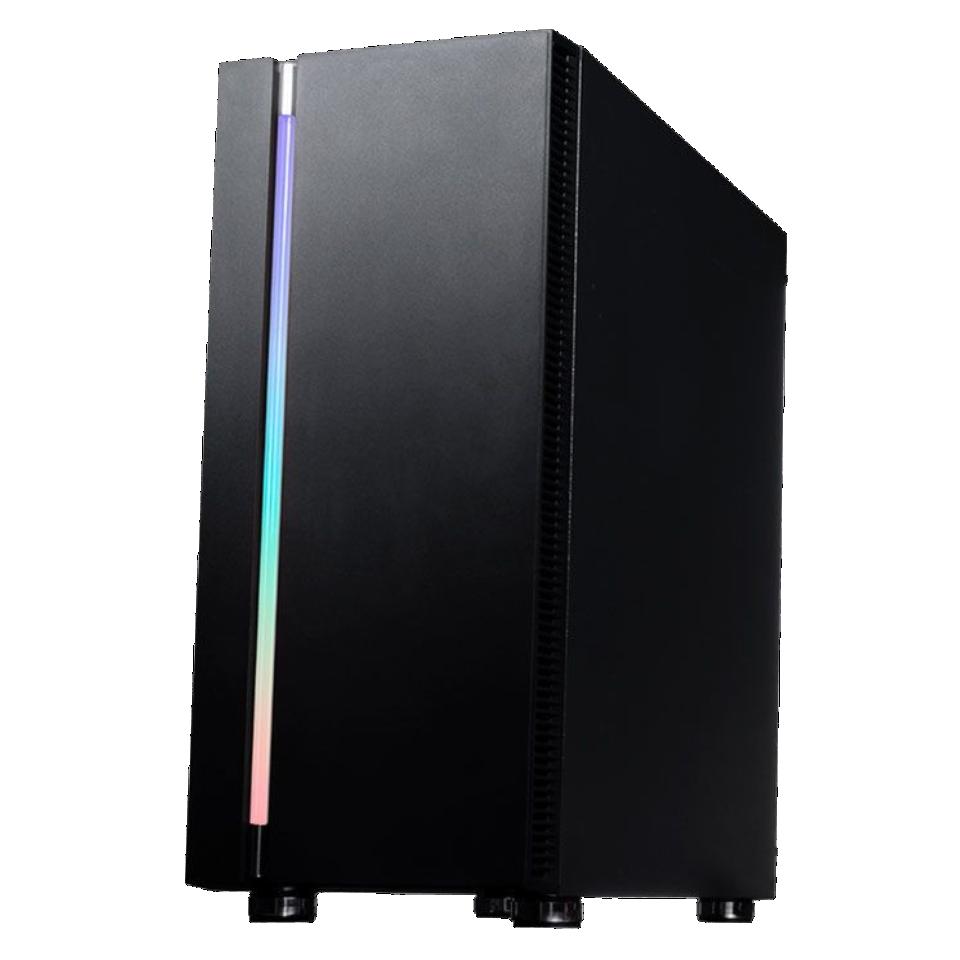 Gabinete Gamer Galax Quasar Vidro Temperado - Preto S/ Cooler