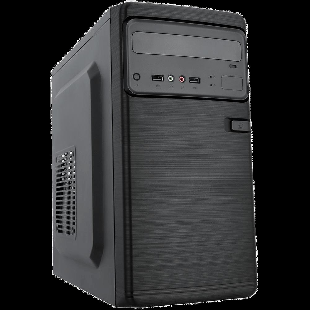 Gabinete K-Mex ATX GM-13T9 com Fonte 2 USB+ Áudio com cabo Preto