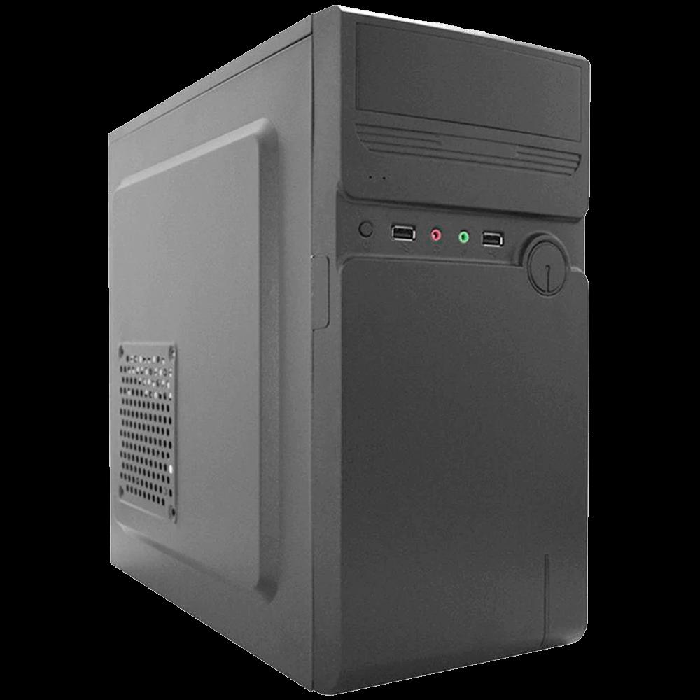 Gabinete K-Mex GM-01MA USB 2.0 C/ Fonte 200W C/ Cabo - Preto