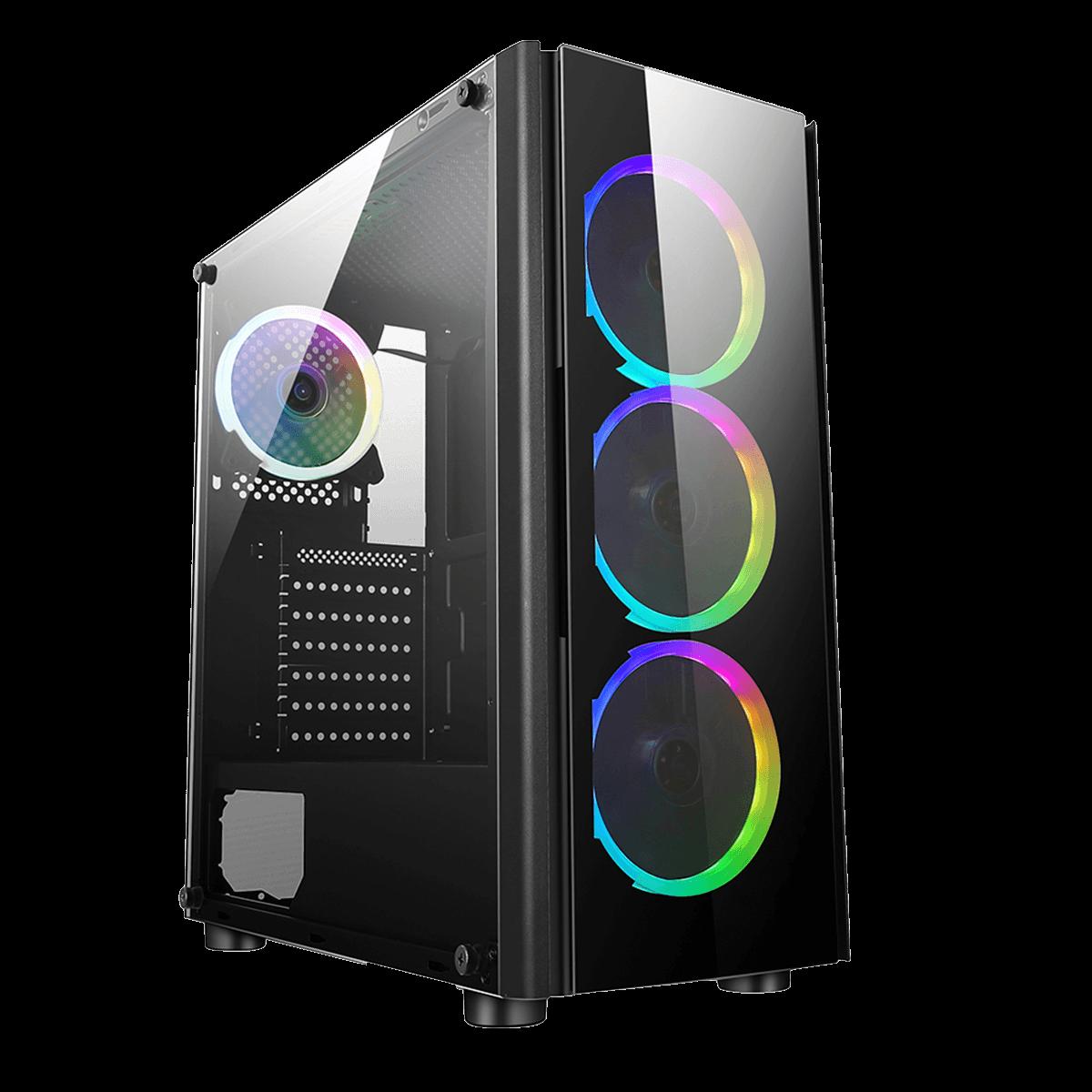 Gabinete Liketec Streamer V2 MID Tower ATX Preto