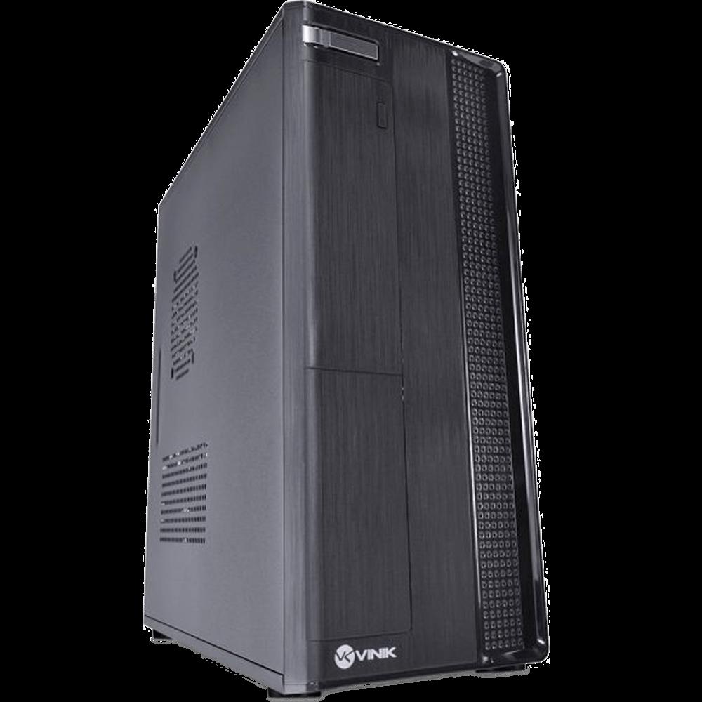 Gabinete SLIM corporativo, com fonte SFX 200W, preto - ONE S1