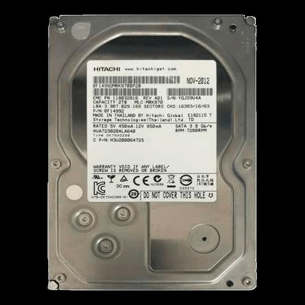HD 2TB SATA III Hitachi 7200RPM - HUA723020ALA641